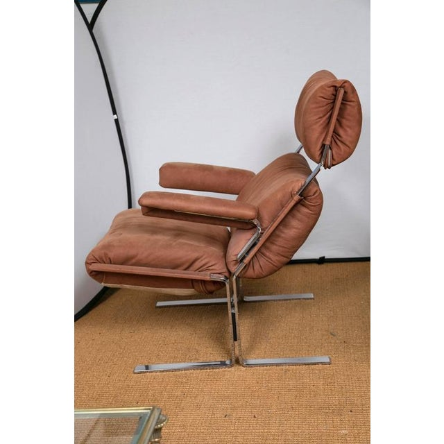 Image of Richard Hersberger for Pace Lounge Chair & Ottoman