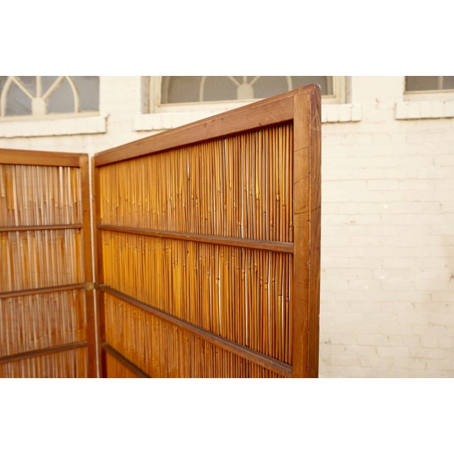 Japanese Room Divider Screen - Image 3 of 6