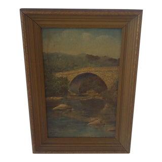 Schenley Bridge Original Painting 1938