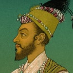 Image of Antique 'Mughal 1' Archival Print