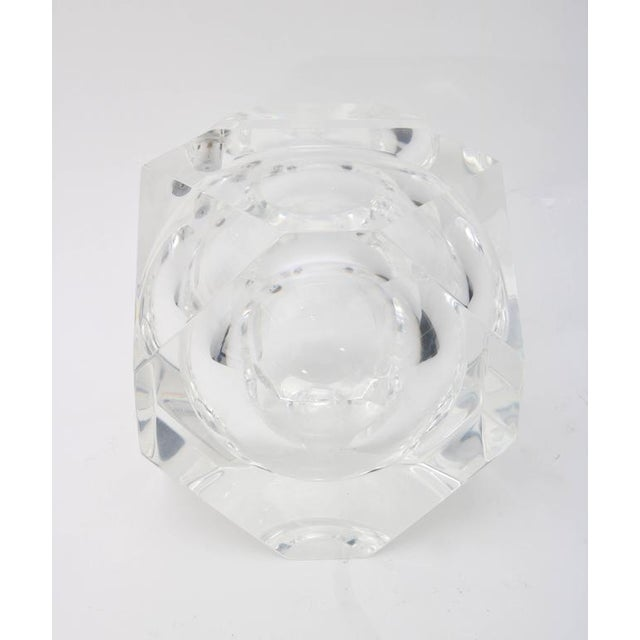Alessandro Albrizzi Clear Lucite Ice Bucket - Image 5 of 7