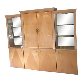 Wall Unit From Italy Lighted