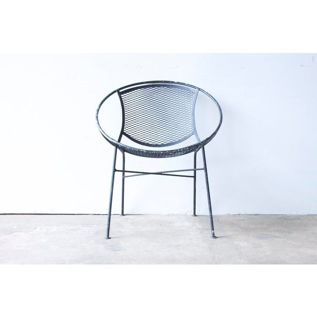Image of Wrought Iron Hoop Chair