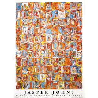 """Jasper Johns """"Numbers in Color"""" 1976 Poster"""