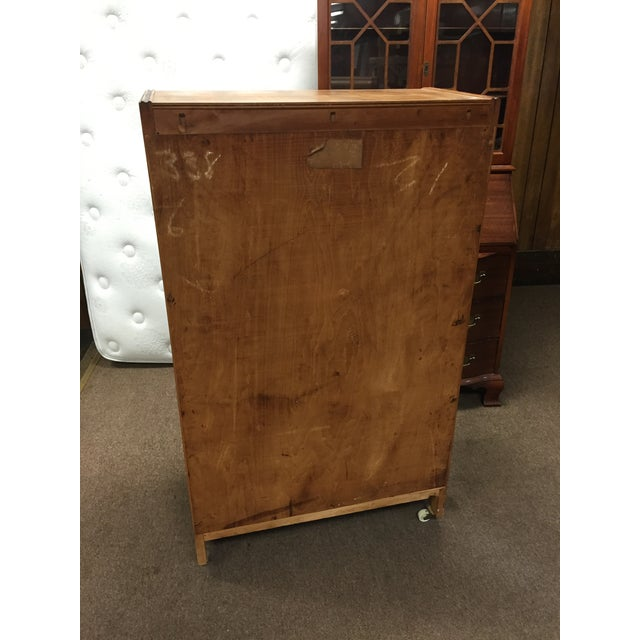 Image of Art Deco Tall Dresser with Drawers