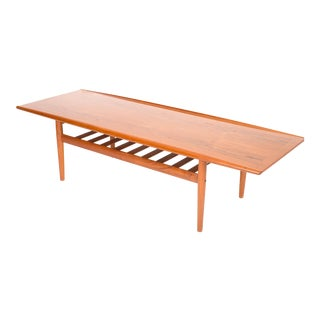 Grete Jalk Teak Coffee Table