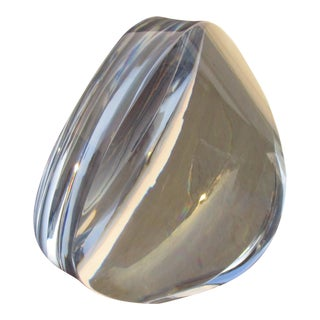 Orrefors Sweden Crystal Art Glass Sculpture