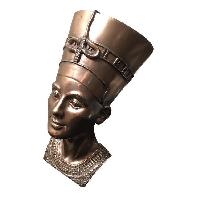 Egyptian Nefertiti Bronze Sculpture Chairish