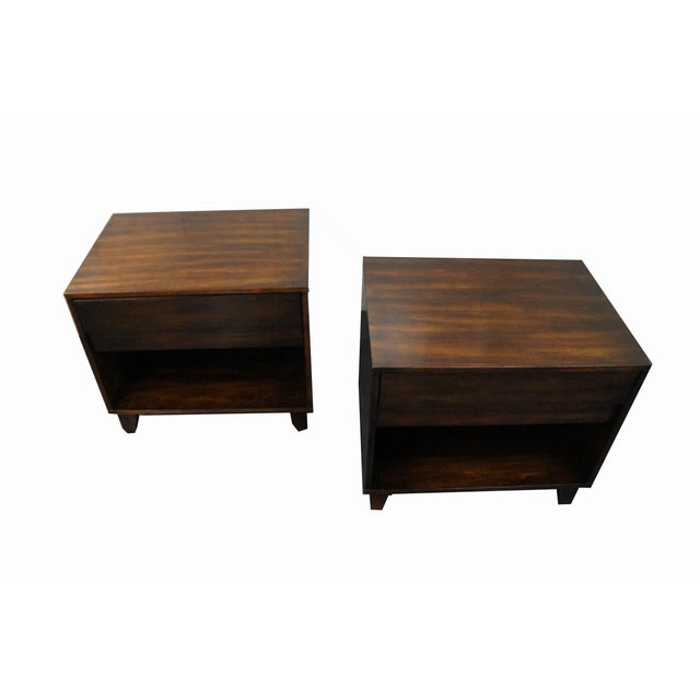 Mid-Century Modern Nightstands- A Pair - Image 6 of 9