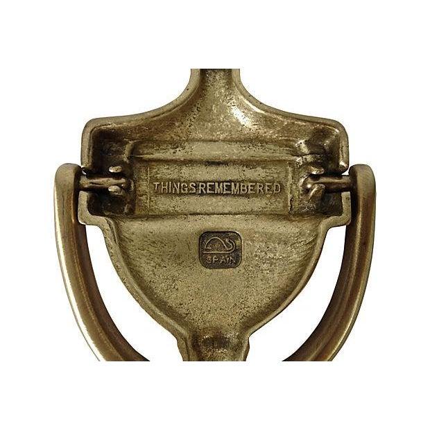 """Engraved Door Knocker """"Miller"""" - Image 4 of 6"""