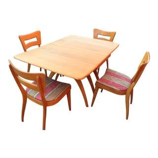 Heywood Wakefield Mid-Century Dining Set - Set of 5
