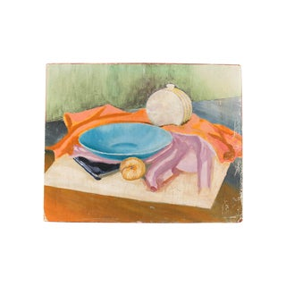 Tablescape Still Life Painting