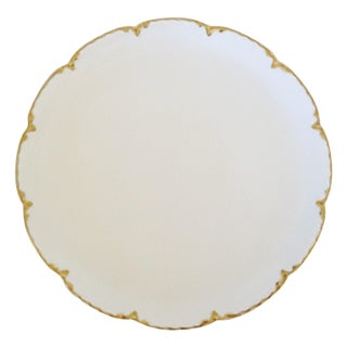 Haviland French White Porcelain Serving Plate