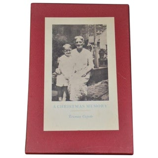 A Christmas Memory Truman Capote Limited Edition