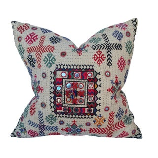Vintage Banjara Fragment Pillow