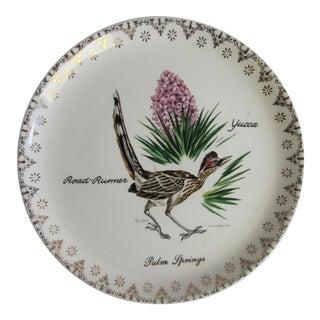 Vintage Palm Springs Plate