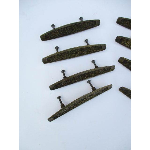 Image of Mid-Century Modern Brutalist Drawer Pulls - Set of 8