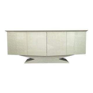 Modern Ello Inspired Art Deco Modern Lacquer Credenza