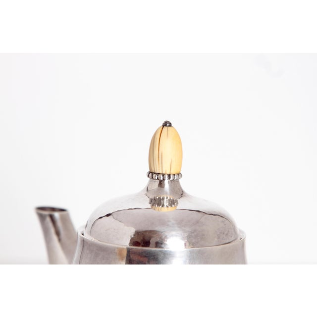 Sterling Silver Coffee Set by Georg Jensen - Image 5 of 11