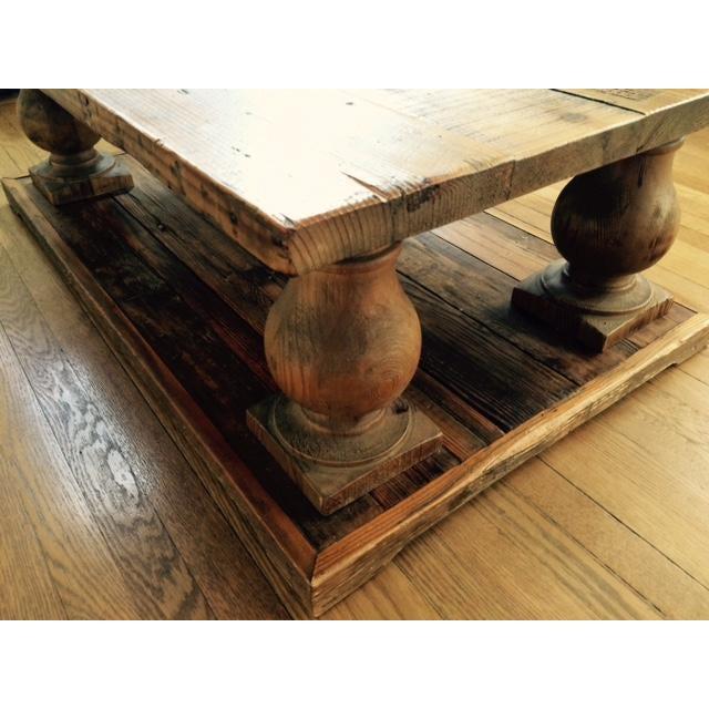 Arhaus Wooden Coffee Table - Image 5 of 9