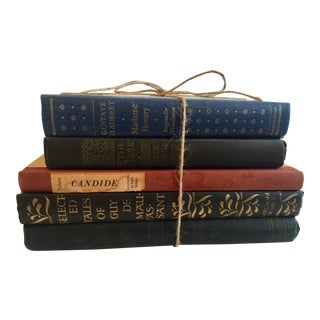 English French Novels - Set of 5
