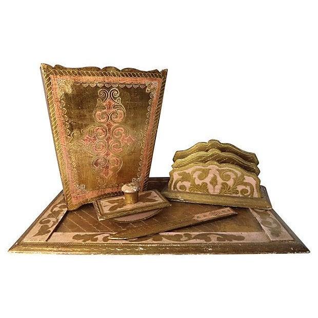 Image of 5-Piece Florentine Desk Set