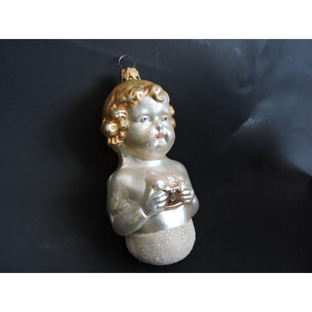 West German Vintage Glass Christmas Ornaments - Image 3 of 5