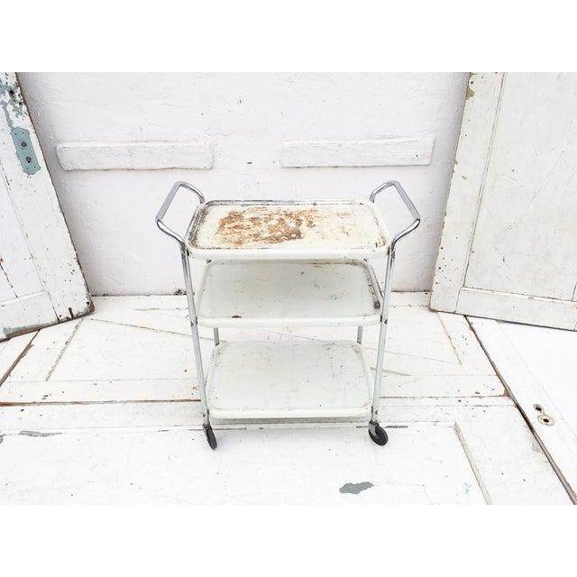 Vintage Mid Century Bar Cart - Image 3 of 5