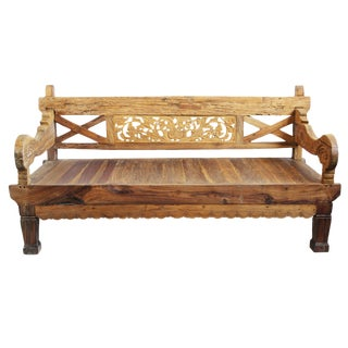 Rustic Teak Daybed