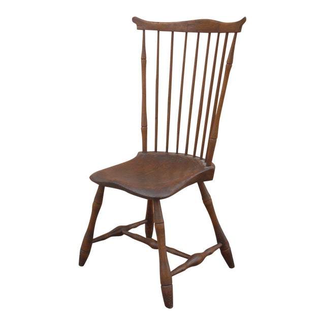 Primitive Windsor Chair - Image 1 of 7