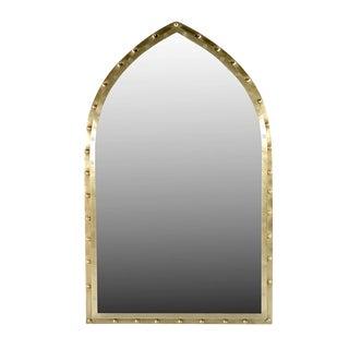 Moorish Brass Mirror