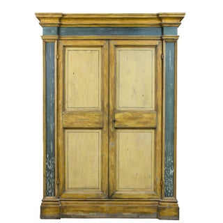 Old European Pine Armoire