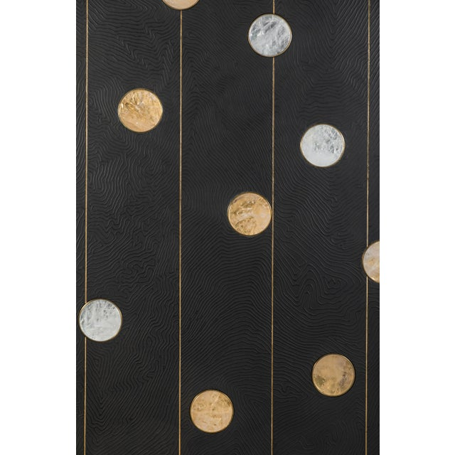 Art Wall Panel with Texture and Rock Crystal by Paul Marra - Image 7 of 11