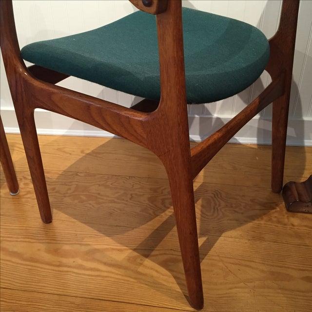 Danish Modern Erik Buch Chairs - Set of Two - Image 7 of 11
