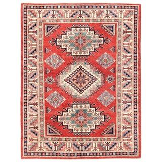 """Pasargad Kazak Wool Rug - 5'1"""" X 6'7"""""""