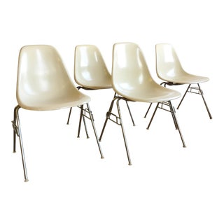Herman Miller Eames Shell Chairs - Set of 4