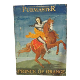 Prince of Orange English Pub Sign