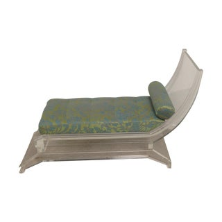 Lucite Chaise or Bench