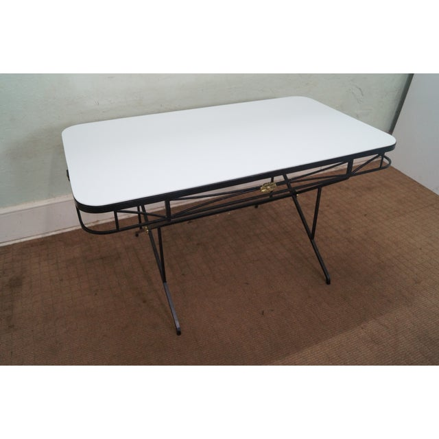 Image of Vintage Hollywood Regency Directoire Dining Table