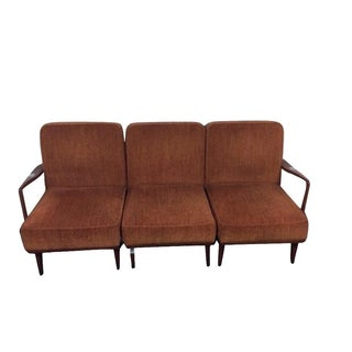 Mid-Century Modern Convertible Sectional Chairs