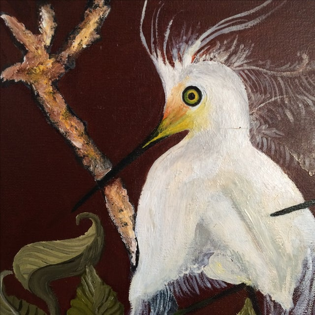 """""""Birds of a Feather"""" Original Oil Painting - Image 6 of 7"""