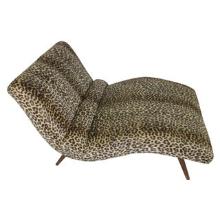 Mid Century Modern Adrian Pearsall Chaise Lounge