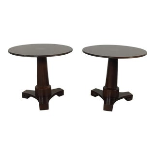Baker Traditional Accent Tables - A Pair