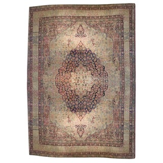 Amazing 19th Century Kermanshah Rug