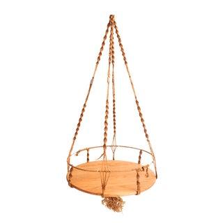 Hanging Macrame Table