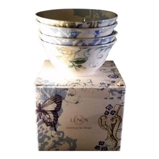 Lenox Bowls, by Alice Drew, Collage Pattern - Set of 4
