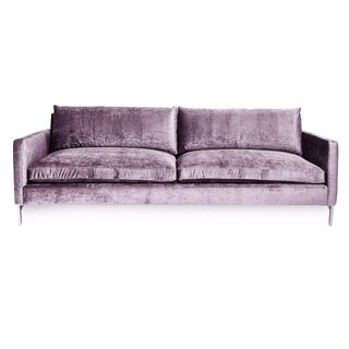 Cobble Hill Amethyst Velvet Sofa