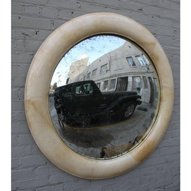 Image of Lacquered Goatskin Mirror