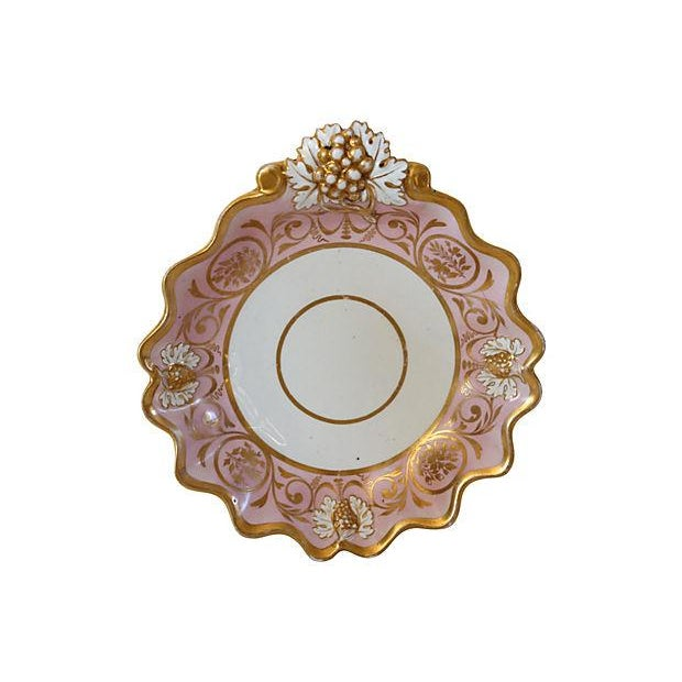 1840s English Staffordshire Victorian Serving Bowl - Image 1 of 2