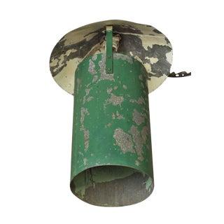 Industrial Green Steel Hanging Lantern